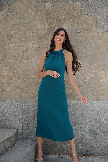 Vestido BEGONIA verde