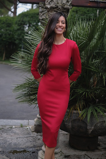 Vestido MELISSA rojo
