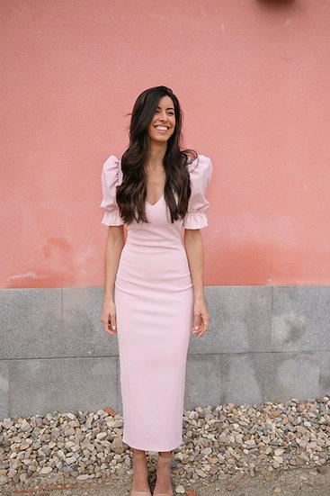 Vestido AZALEA rosa