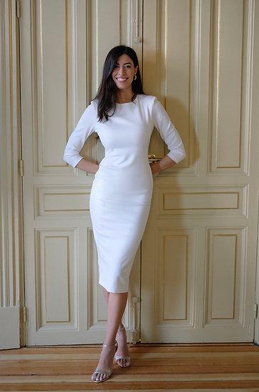 Vestido MELISSA blanco
