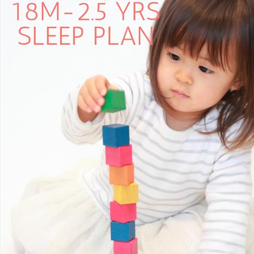 18M-2.5 YR Sleep Training Guide