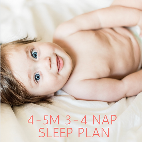 4-5 Month Sleep Training Guide