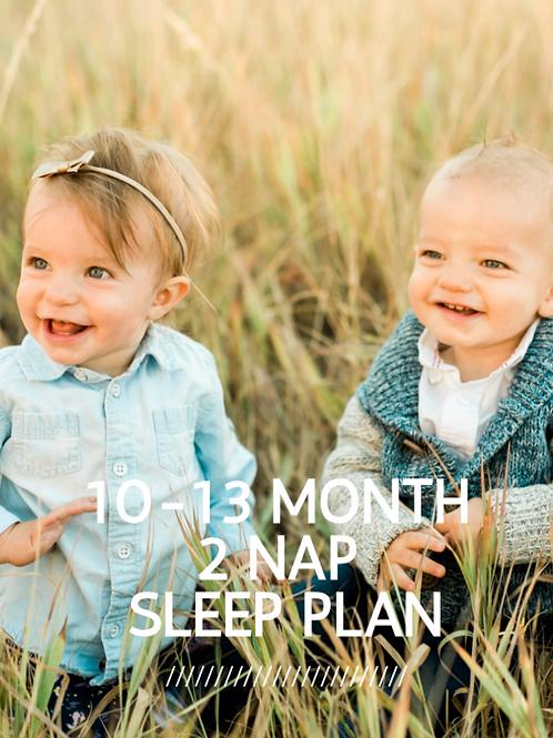 10-13 Month Sleep Guide