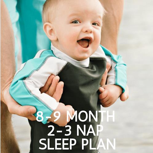 8-9 Month Sleep Training Guide