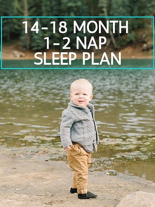 14-18 Month Sleep Guide