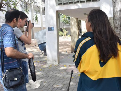 Bastidores: Quando o campus vira cenário de editorial de moda