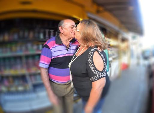 O amor de Dona Betinha e Seu Lulu: eternos namorados