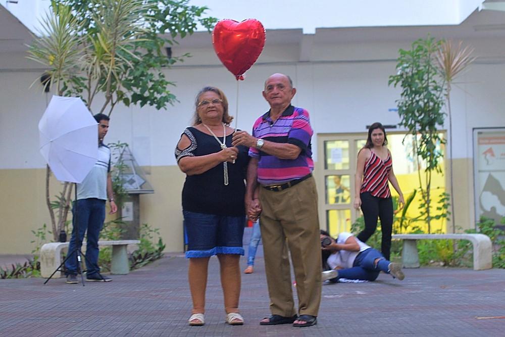 'Dona Betinha e Seu Lulu: eternos namorados (Foto: Willy Araújo/Coletivo F8)