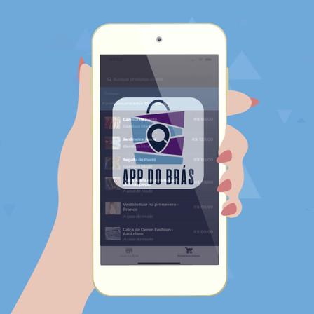 Divulgação App do Brás