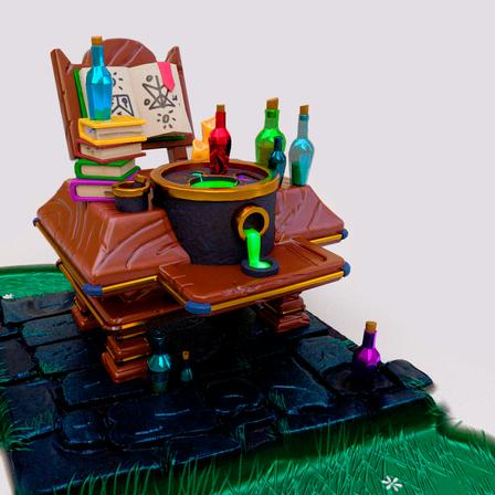 Mesa de alquimista