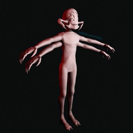 Criatura 3D - Mr Webs