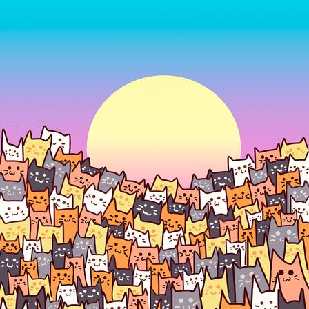 Mar de gatinhos