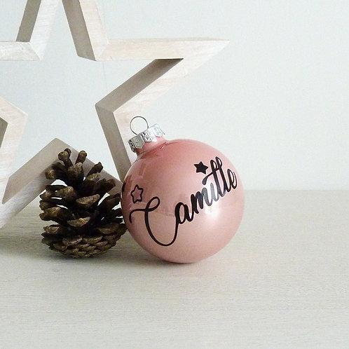 COFFRET 1 boule de Noël - 7cm