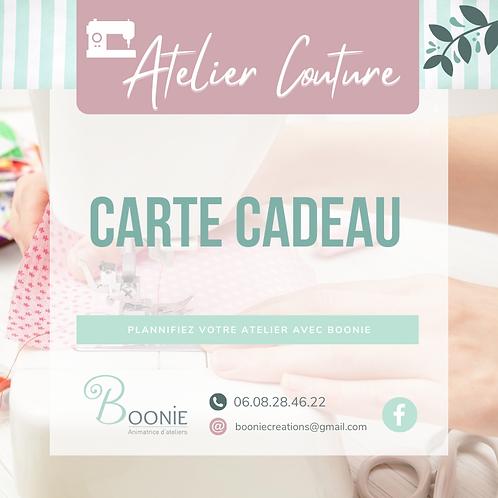 Carte Cadeau Atelier couture