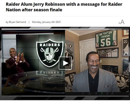 Jerry Robinson talks Silver & Black Season Finale