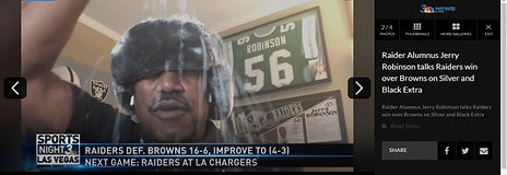 Jerry Robinson Talks NFL Week 8 For LV Raiders