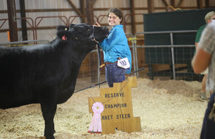 Kamryn Smith, Reserve Champion, Noble Co