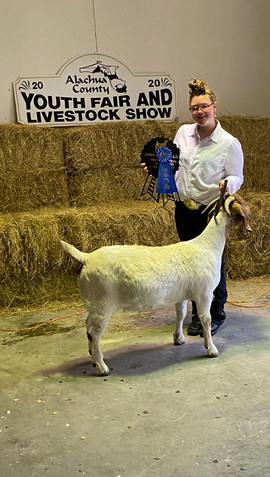 Amber Rogers, Grand Champion Homegrown A