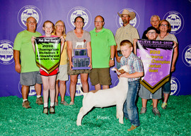 Mason Trattles, Reserve Grand Champion Michigan Livestock Expo