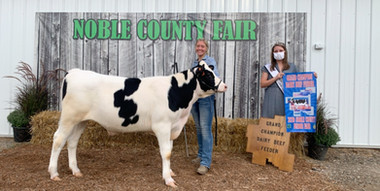 Tara Pakes, Grand Champion Dairy Feeder,