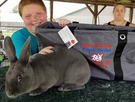 Brandi Lupton, Grand Champion, Delaware Valley Rabbit Breeders Association, OH