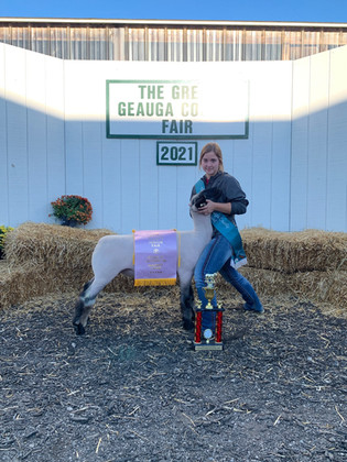 Rachel O'Reilly, Reserve Champion, Geauga County, OH.JPG