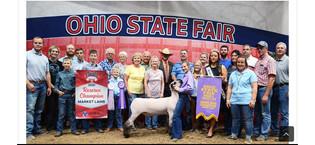 Kaitlyn Zeedyk, Reserve Grand Champion Market Lamb, Ohio State Fair.jpeg