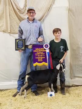 Judson Weingart, Grand Champion Market D