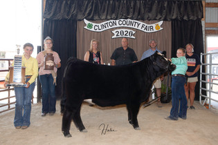 Taylor Barton, Grand Champion Breeding H