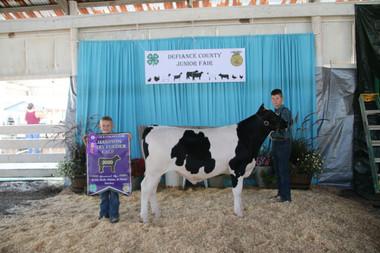 Brady Zeedyk, Grand Champion Dairy Beef