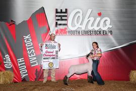 Bailee Amstutz, Grand Champion, Ohio You
