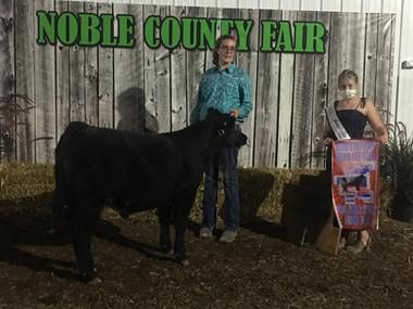 Katarina West, Reserve Feeder Calf Steer