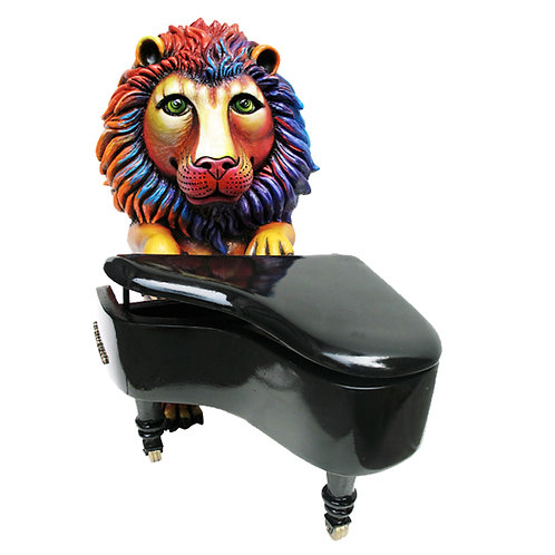 Lion Piano Player
