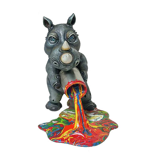Rhino Paint Spill