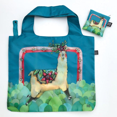 Llama Love Folding Bag