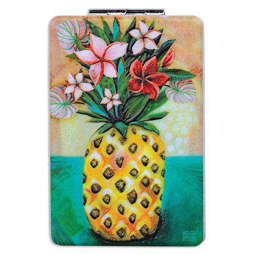 Pineapple Compact Mirror