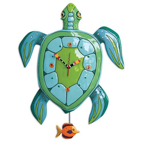 Large Turtle Pendulum Clock
