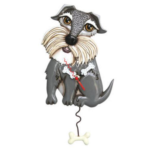 Lucy Dog Pendulum Clock