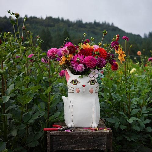 Jumbo Pretty Kitty Planter