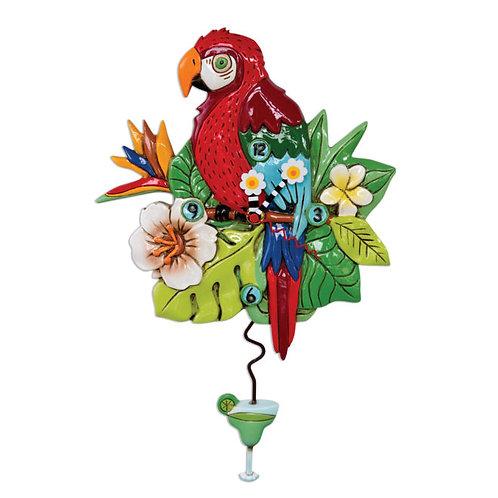 Polly Parrot Pendulum Clock