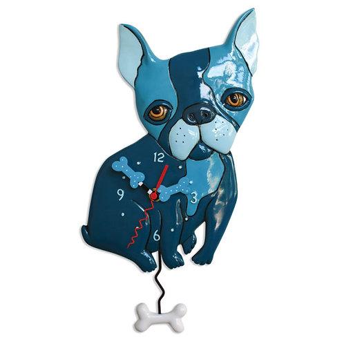 Le Blue Dog Pendulum Clock