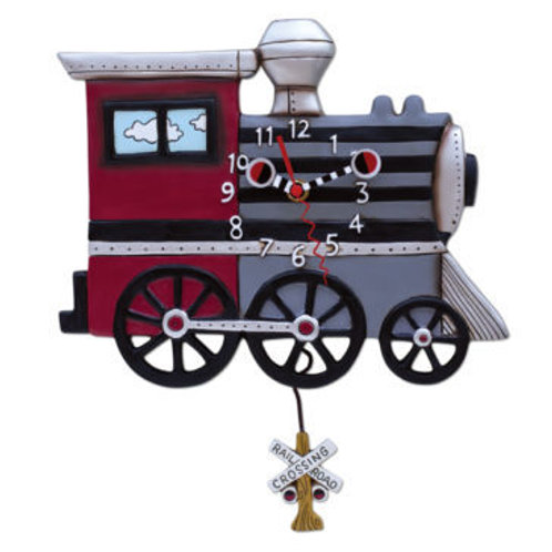 Choo Choo Train Clock