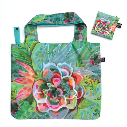 Big Flower Folding Bag