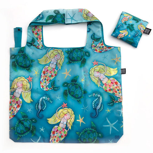 Mermaid Folding Bag