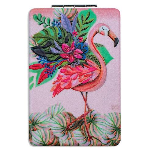 Flamingo Compact Mirror