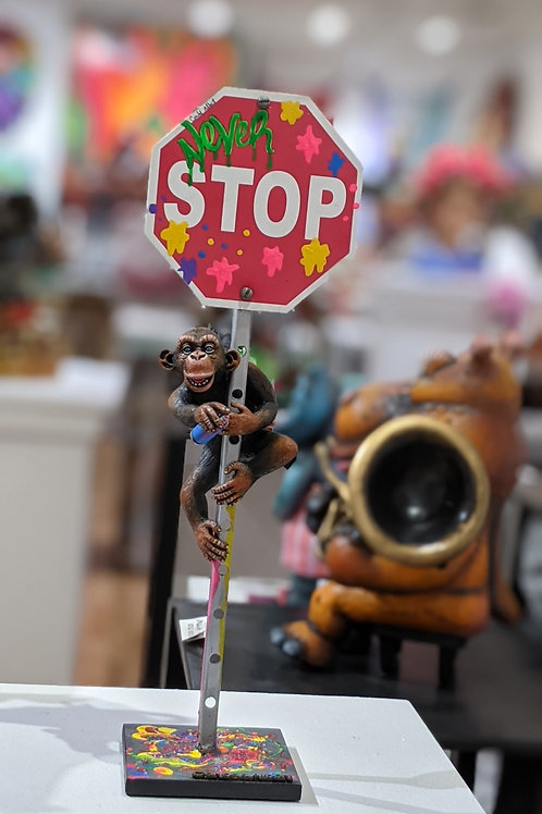 Never Stop 1 Chimp Small