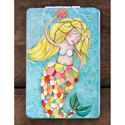 Mermaid Compact Mirror
