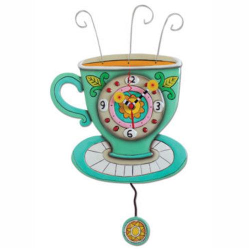 Sunny Cup Clock