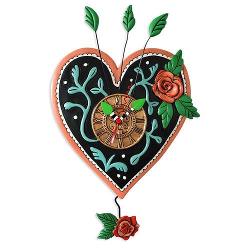 Love Always Pendulum Clock