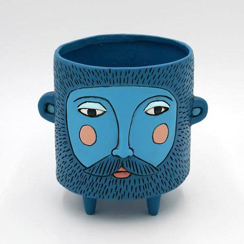 Blue Hairy Jack Planter